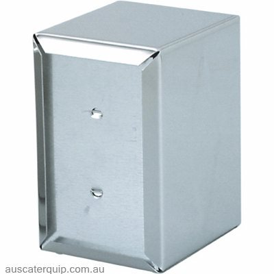 "NAPKIN DISPENSER-S/S ""E FOLD"" 160x100x125mm"