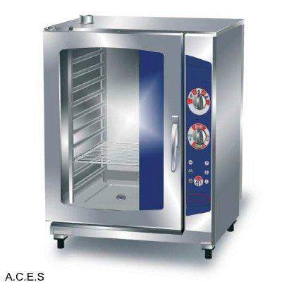 LAVA COMPACT DIRECT STEAM COMBI OVEN ELECTRONIC 11 TRAYS