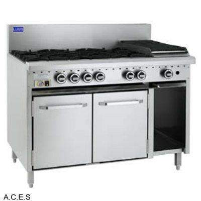 LUUS 6 OPEN BURNER & BARBECUE and Gas Oven