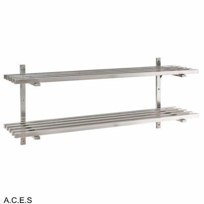 JEMI Double Tier Pot Shelf - 1.0mm 1500mm wide