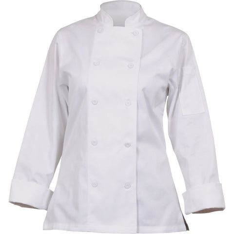 Marbella Women's White Executive Chef Jacket