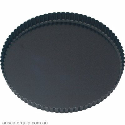 Guery QUICHE PAN-ROUND FLUTED 240x25mm LOOSE BASE NON-STICK