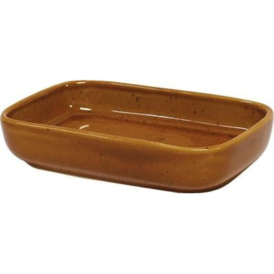 tablekraft ARTISTICA RECTANGULAR DISH 170x105x40mm HAZELNUT
