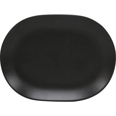 Rene Ozorio RIMMED CEREAL BOWL 165mm AURA, MATT BLACK (923116)