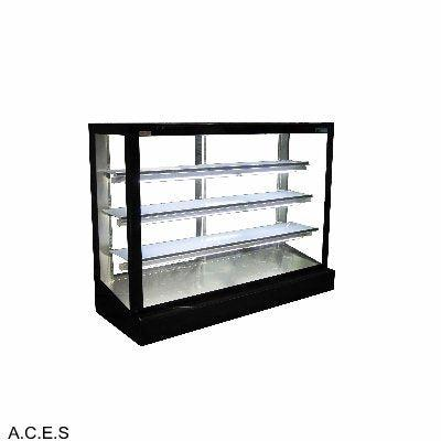 MITCHEL BLACK 1800mm Ambient cake display