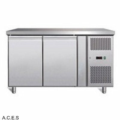 GREENLINE Bench Refrigeration 600 Deep (2 Solid Doors)