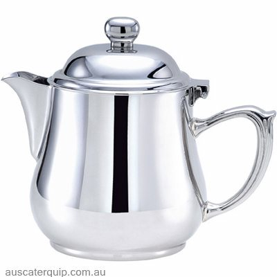 Hyperlux OVAL TEAPOT WITH LID-18/10 0.9LT