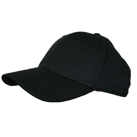 Black Cool Vent Baseball Cap