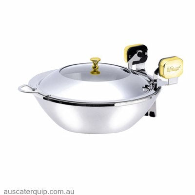 Hyperlux INDUCTION WOK SERVER 400mm WITH GLASS LID