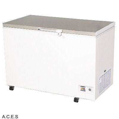 BROMIC Stainless Steel Lid Chest Freezer- 296L