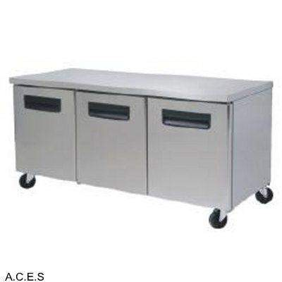 GREENLINE COMPACT BENCH FREEZER 3 Door
