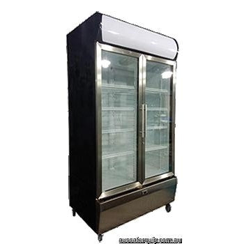 Exquisite Upright Display Chiller S/S Fa�ade 1000L