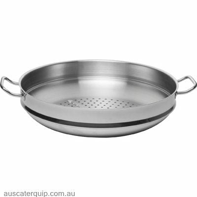 Chef Inox STEAMER INSERT 18/10 360mmx80mm (SUITS 73268)