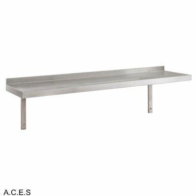 JEMI Single Tier Solid Wall Shelf - 1.0mm 900mm wide