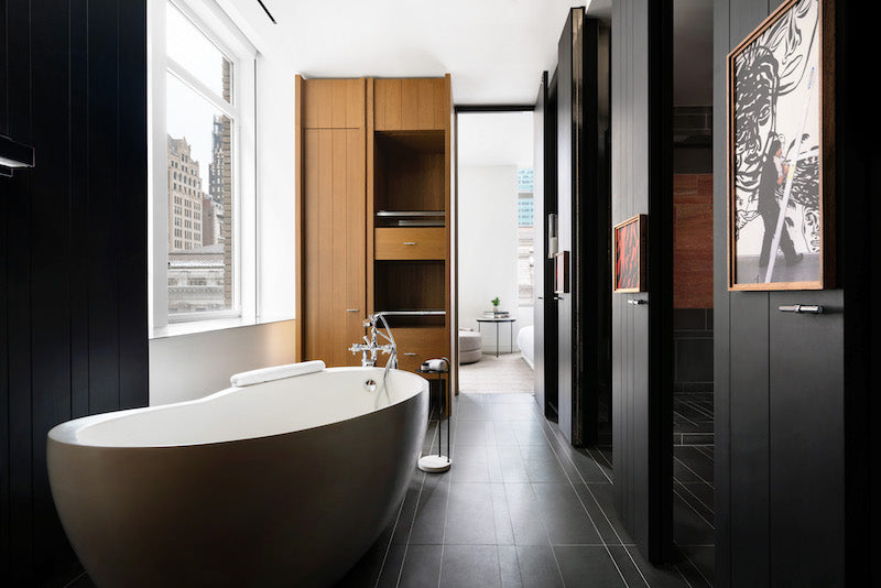 Signature tub at the Andaz 5th Wellness Suite