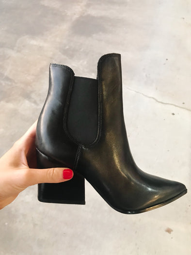 kendall and kylie finley leather bootie
