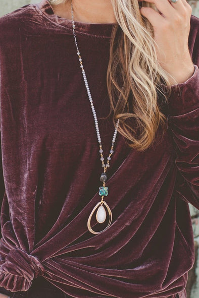Handmade Abalone Necklace