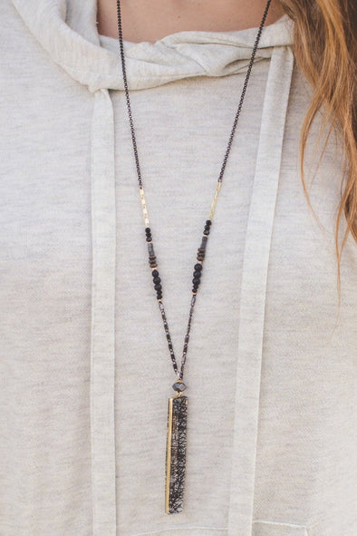 Handmade Bar Necklace