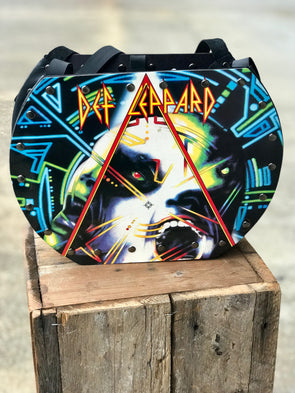 Def Leppard Mercury Handmade Album Record Purse