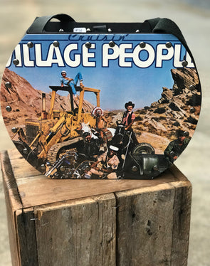 Village People Cruisin Handmade Album Record Purse