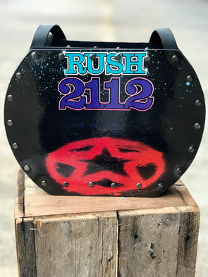 Rush 2112 Handmade Album Record Purse