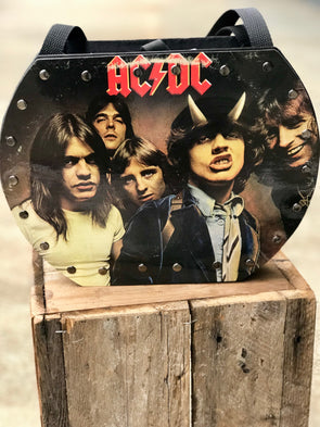 ACDC Highway To Hell Handmade Record Purse