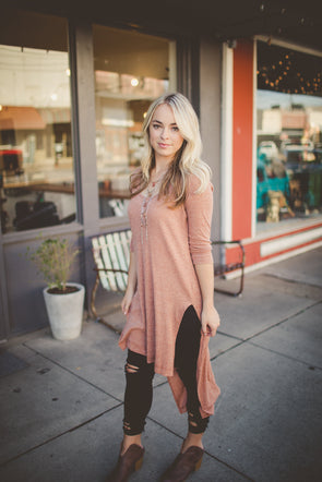 High-low tunic