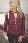Maroon sweater