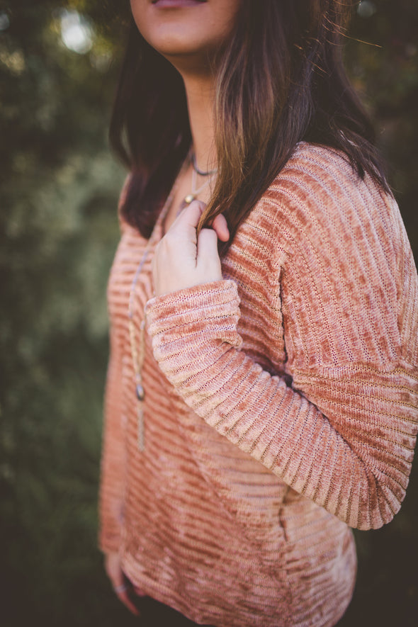 Ginger Spiced Stripe Sweater