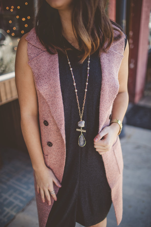 Sleeveless Duster