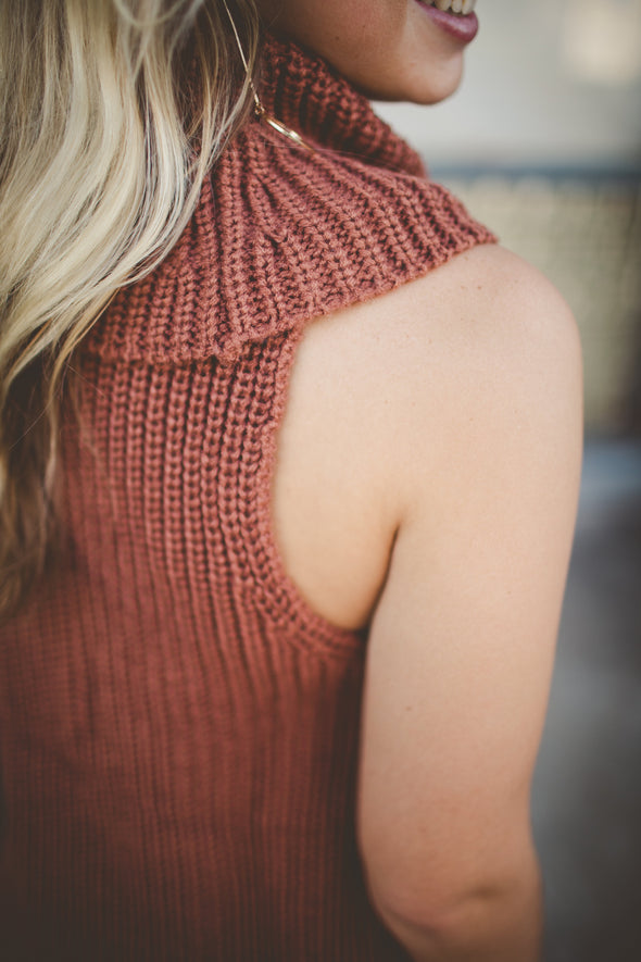 Moore Knit Sleeveless Sweater