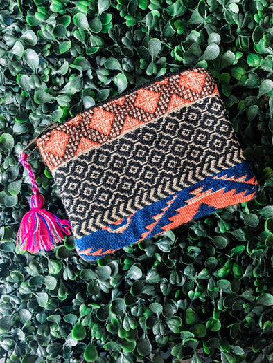 Full of Color Aztec Coin Purse