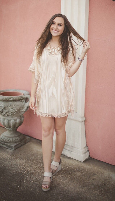 Kendra Kimono Tunic Dress - Online Exclusive