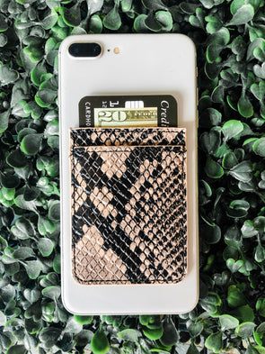 Snakeskin Phone Pocket