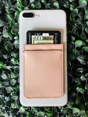 Blush Phone Pocket