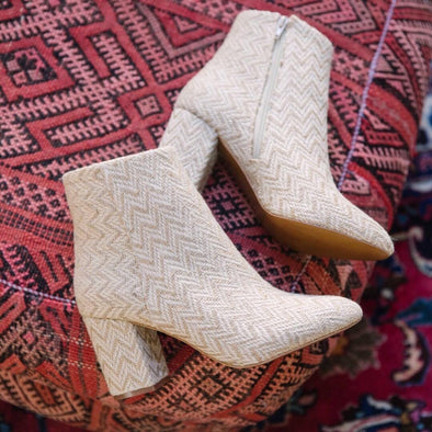 Andy Jute Woven Bootie
