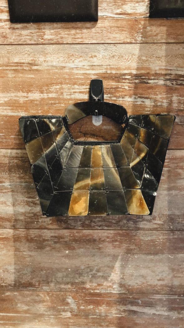 Buffalo Horn Retro Purse