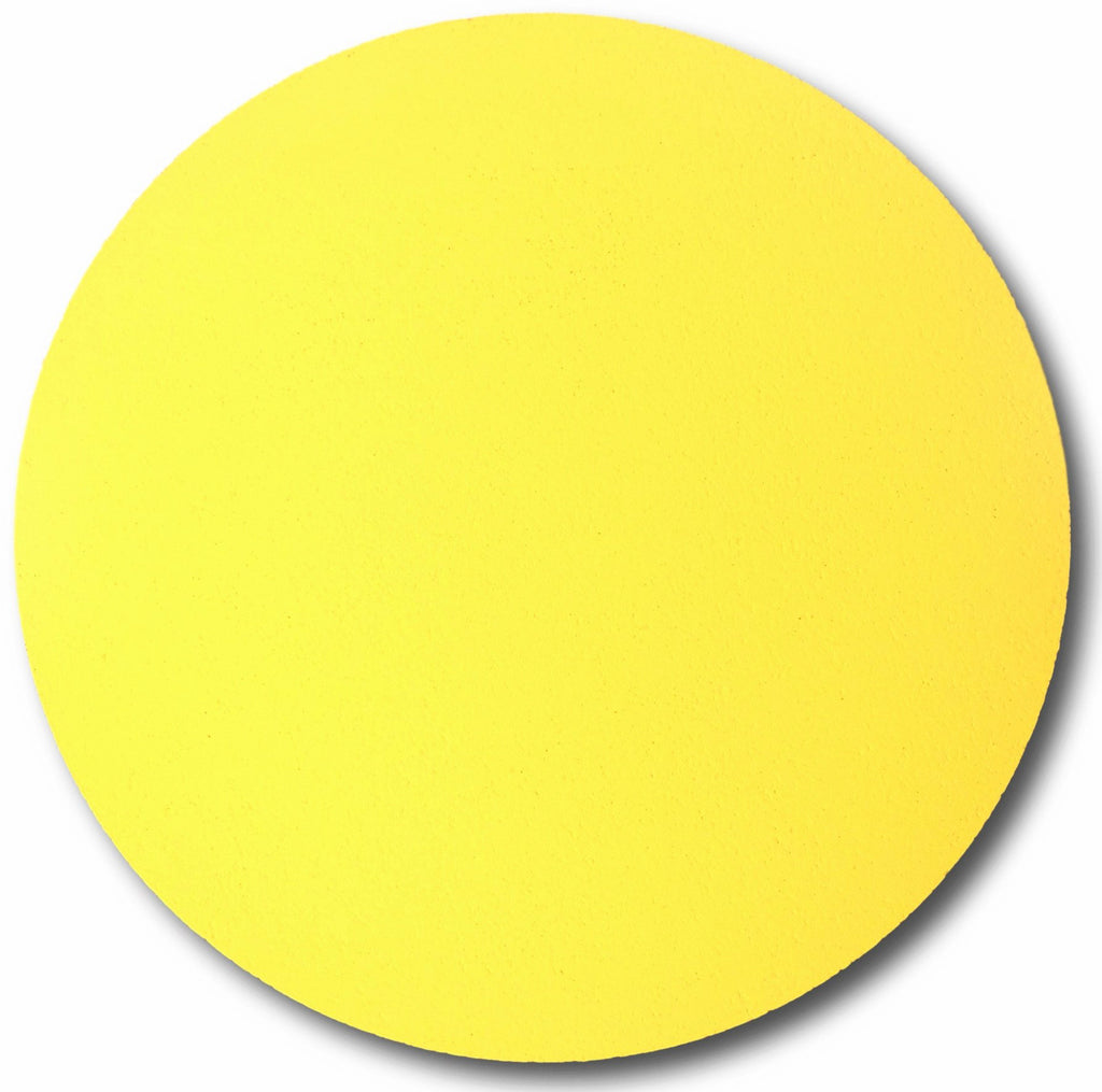 yellow circle pin board colour pop