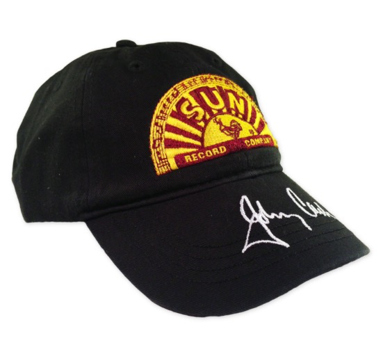Johnny Cash Signature Sun Records Baseball Hat – Back in Memphis d5697a164a6