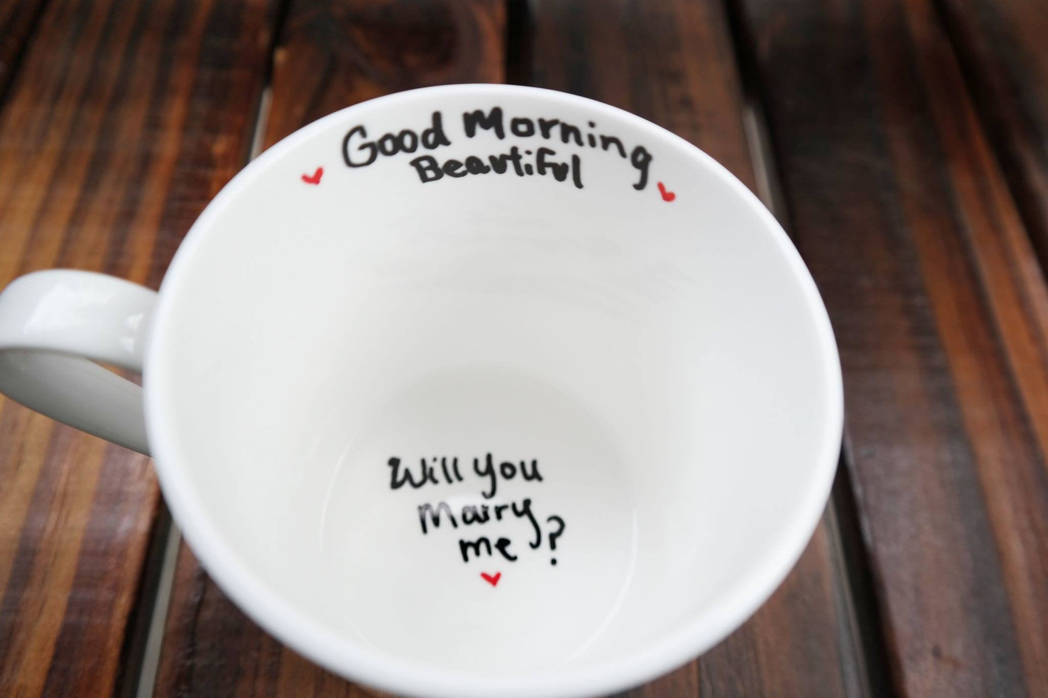 Will You Marry Me Coffee Mug Unique Proposal Ideas The