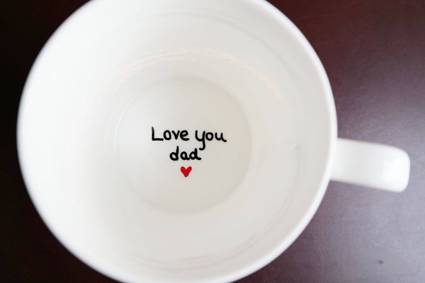 Love You Dad Coffee Mug, Fathers Day Gift