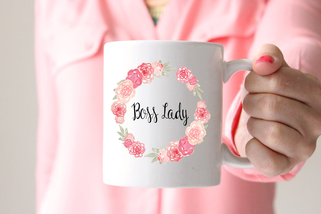 Boss Lady Coffee Mug, Gift for Wife, Gift for Boss