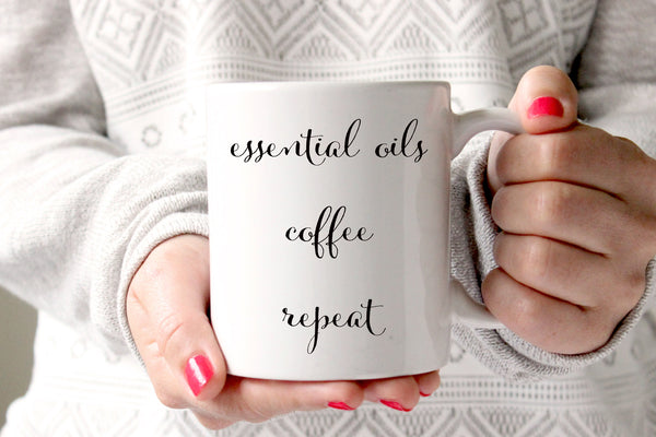 Essential Oils Coffee Mug, Funny Coffee Mug