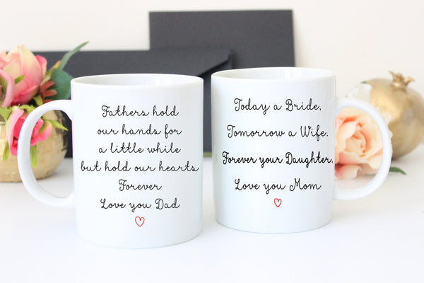 Father of the Bride and Mother of the Bride Gift, Wedding Gift For Dad
