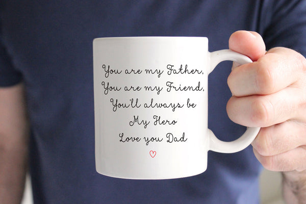 Father of the Groom Coffee Mug, Wedding Gift for Dad