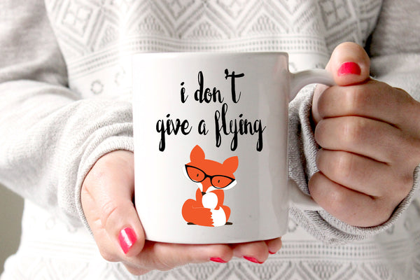 Flying Fox Coffee Mug, Funny Coffee Mug