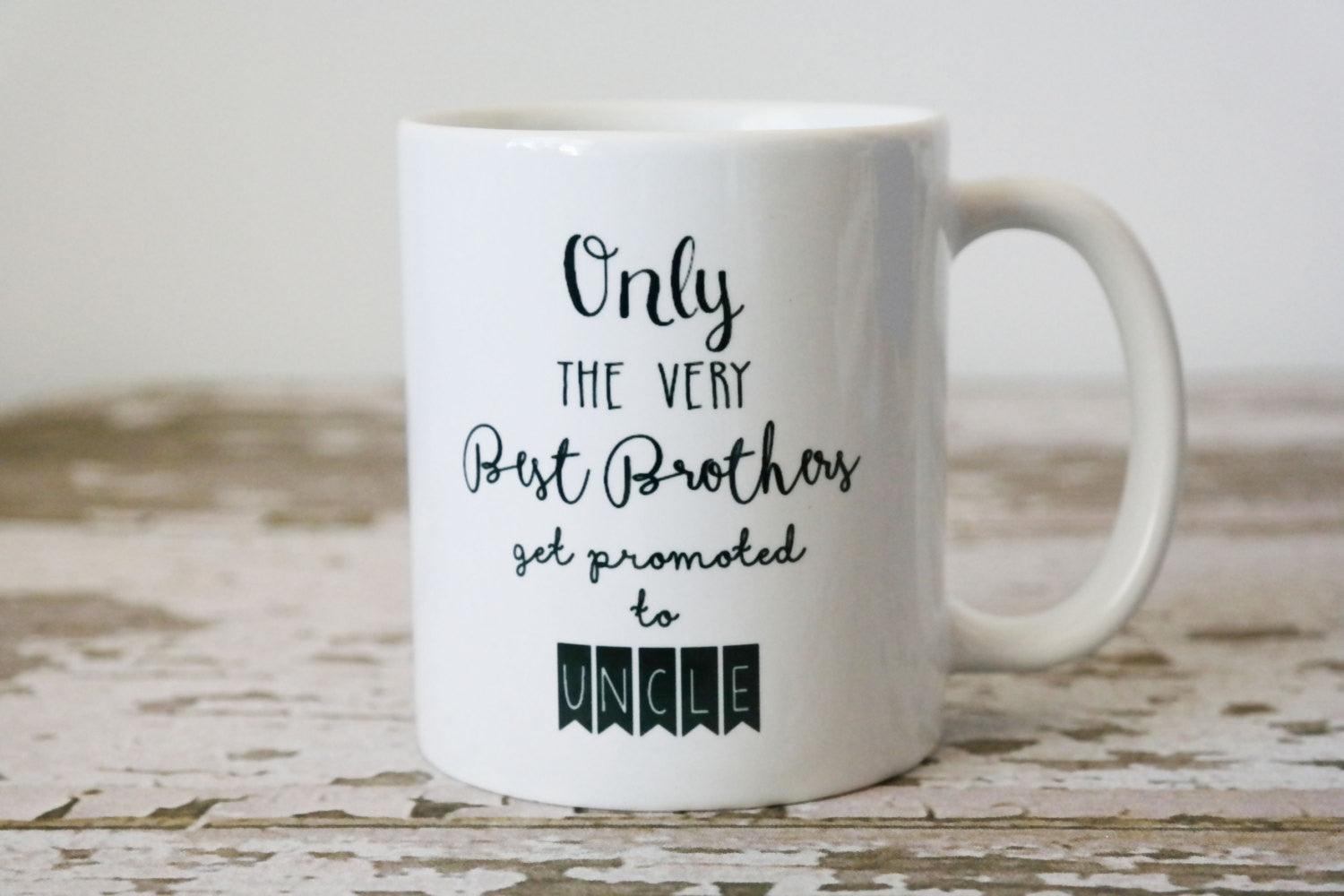 New Uncle Coffee Mug, Pregnancy Announcement - The Love Mugs
