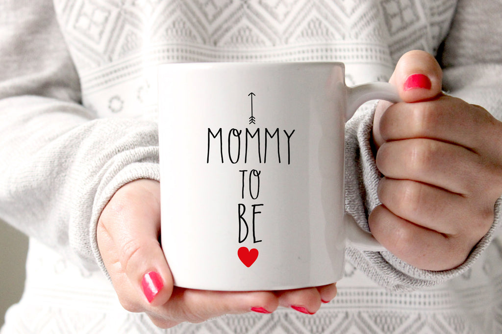 Mommy To Be Coffee Mug, Pregnancy Announcement