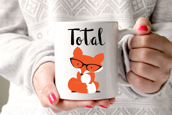 Total Fox Coffee Mug, Fox Gifts