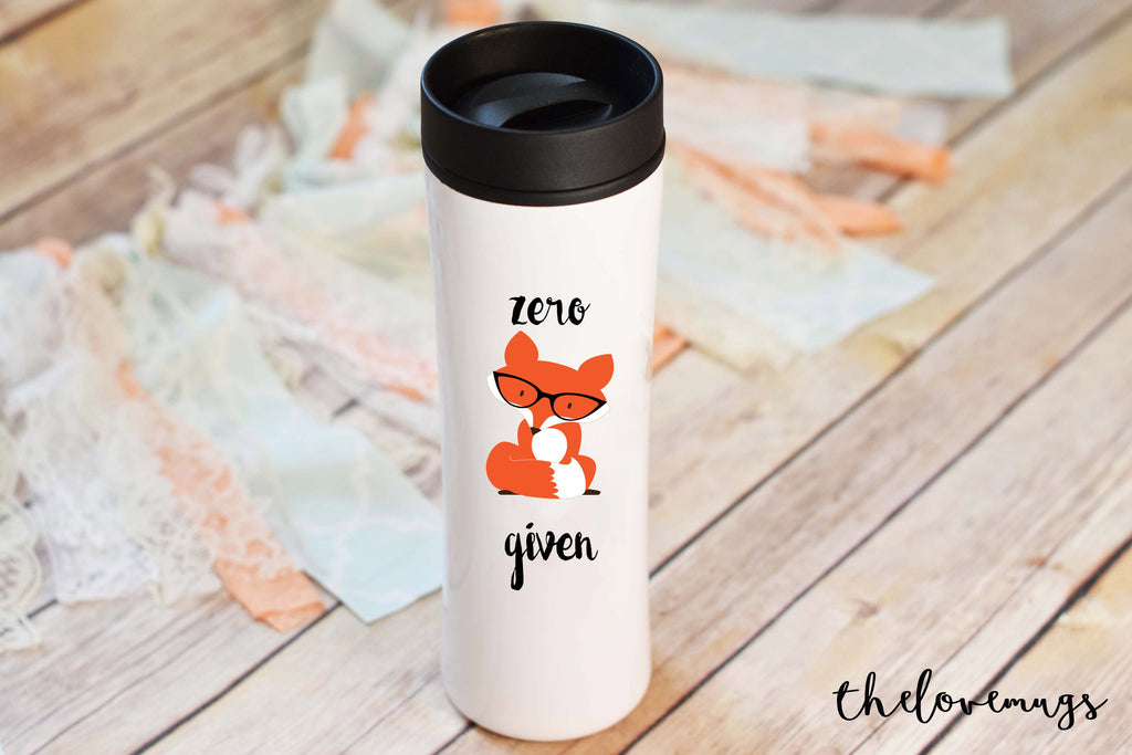Zero Fox Given Travel Mug